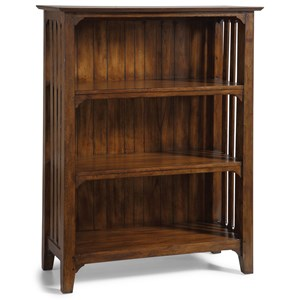 Flexsteel Wynwood Collection Windsor Mission Small Bookcase