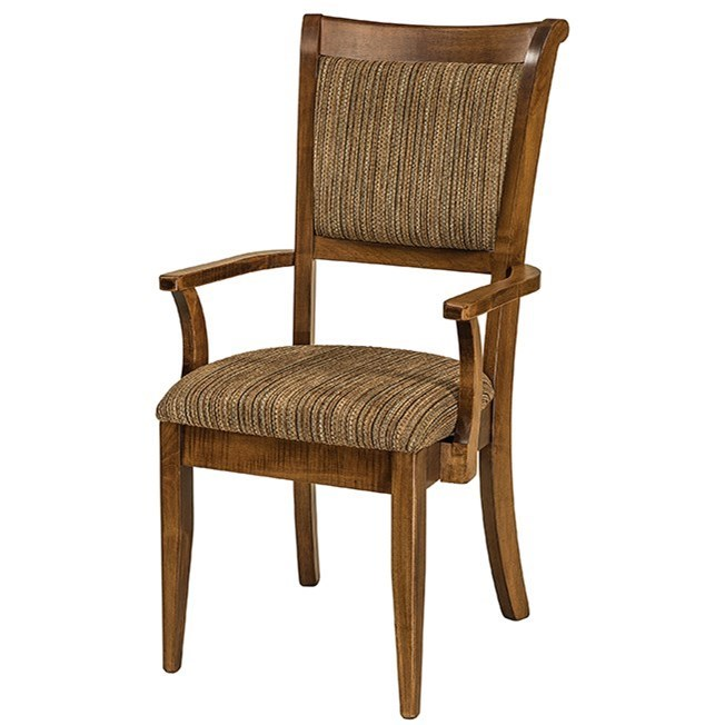Adair Arm Chair by F&N Woodworking at Mueller Furniture