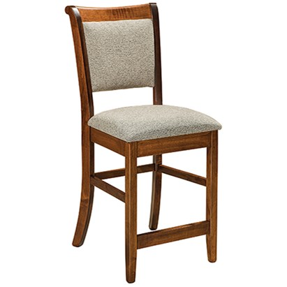 "Adair 30"" Stationary Bar Stool by F&N Woodworking at Mueller Furniture"