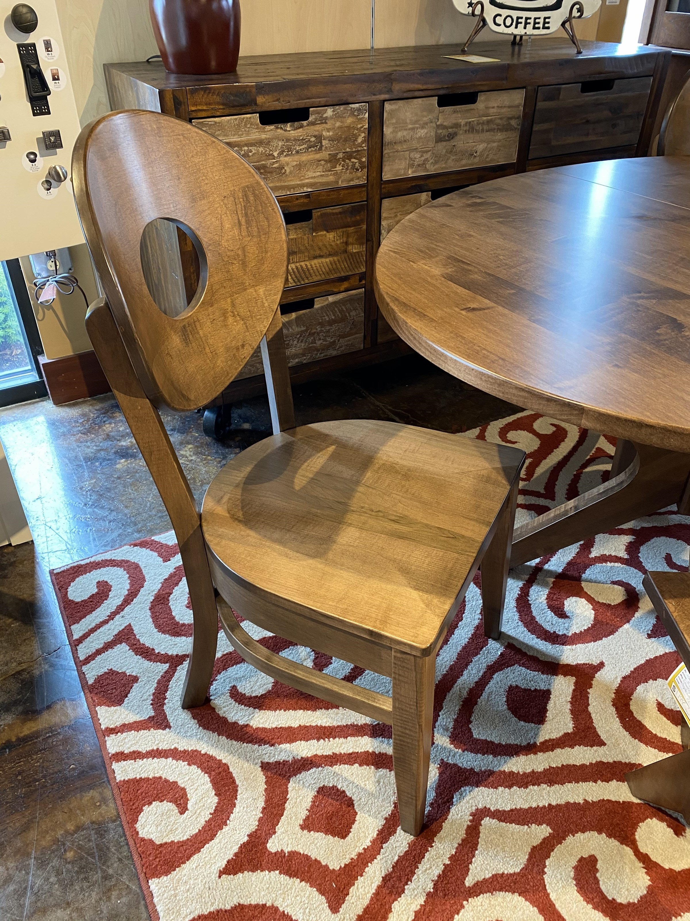 Side Chair - Wood Seat
