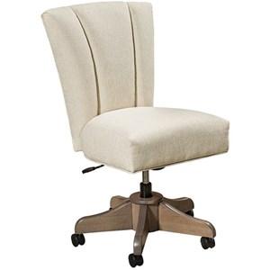 Customizable Upholstered Desk Chair