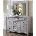 Folio 21 Stone Harbor Dresser & Mirror - Item Number: 681-002+020