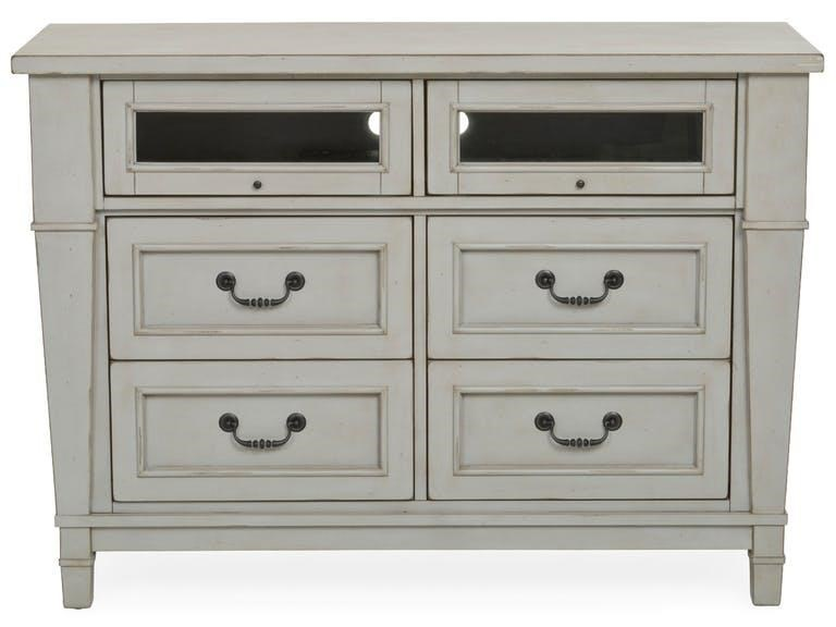 Folio 21 Stone Harbor Media Chest - Item Number: 681-017