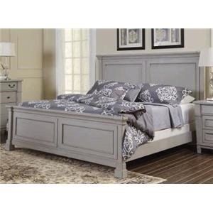 Folio 21 Stone Harbor Queen Panel Bed