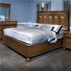 Morris Home Furnishings Jackson Queen Storage Bed