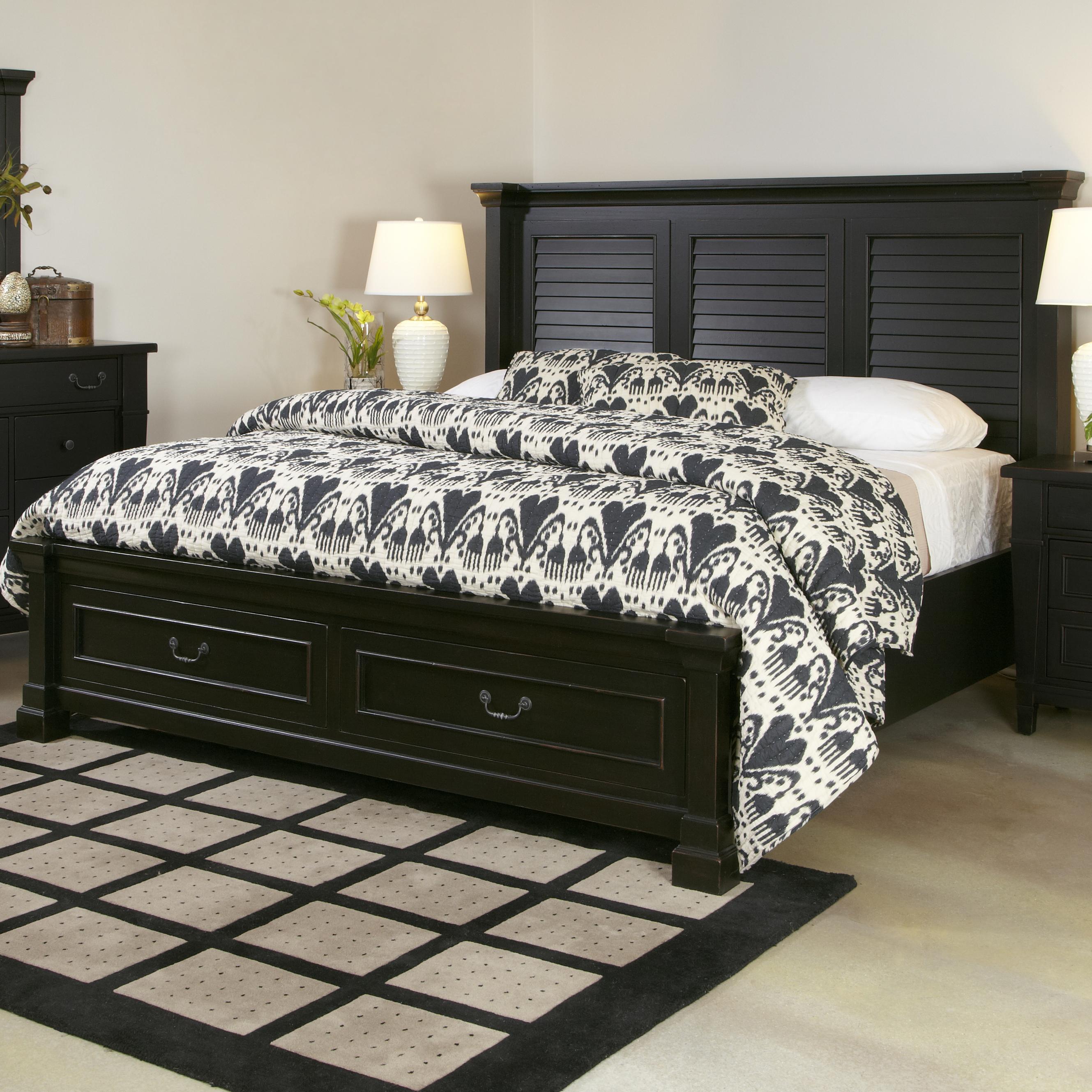 King Shutter Bed