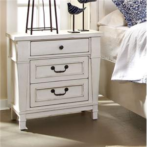 Folio 21 Stoney Creek Three Drawer Night Stand