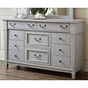 Folio 21 Stone Harbor Dresser - Item Number: 681-002