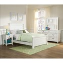 Folio 21 Stoney Creek Youth Cottage Style One Drawer Night Stand with Open Shelf