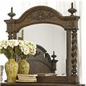Morris Home Furnishings Yorktown Traditional Framed Mirror