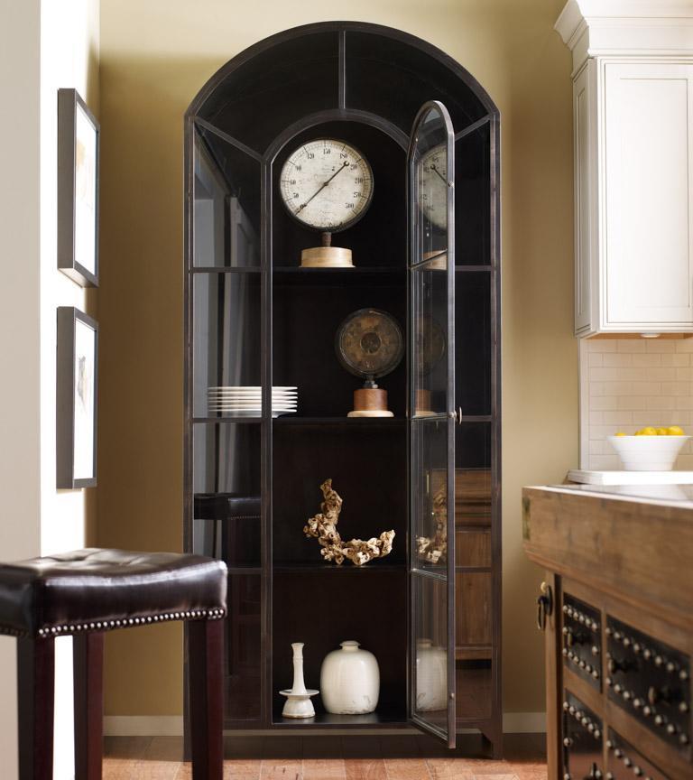 Four Hands Belmont Metal Cabinet w/ Drawer - Item Number: VBEL-F030