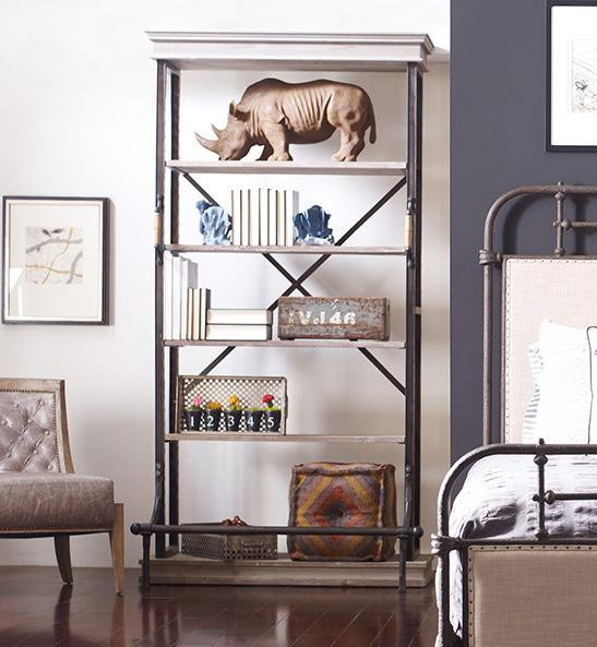 Four Hands Irondale Braxton Single Bookcase - Item Number: CIRD-22C8-C2
