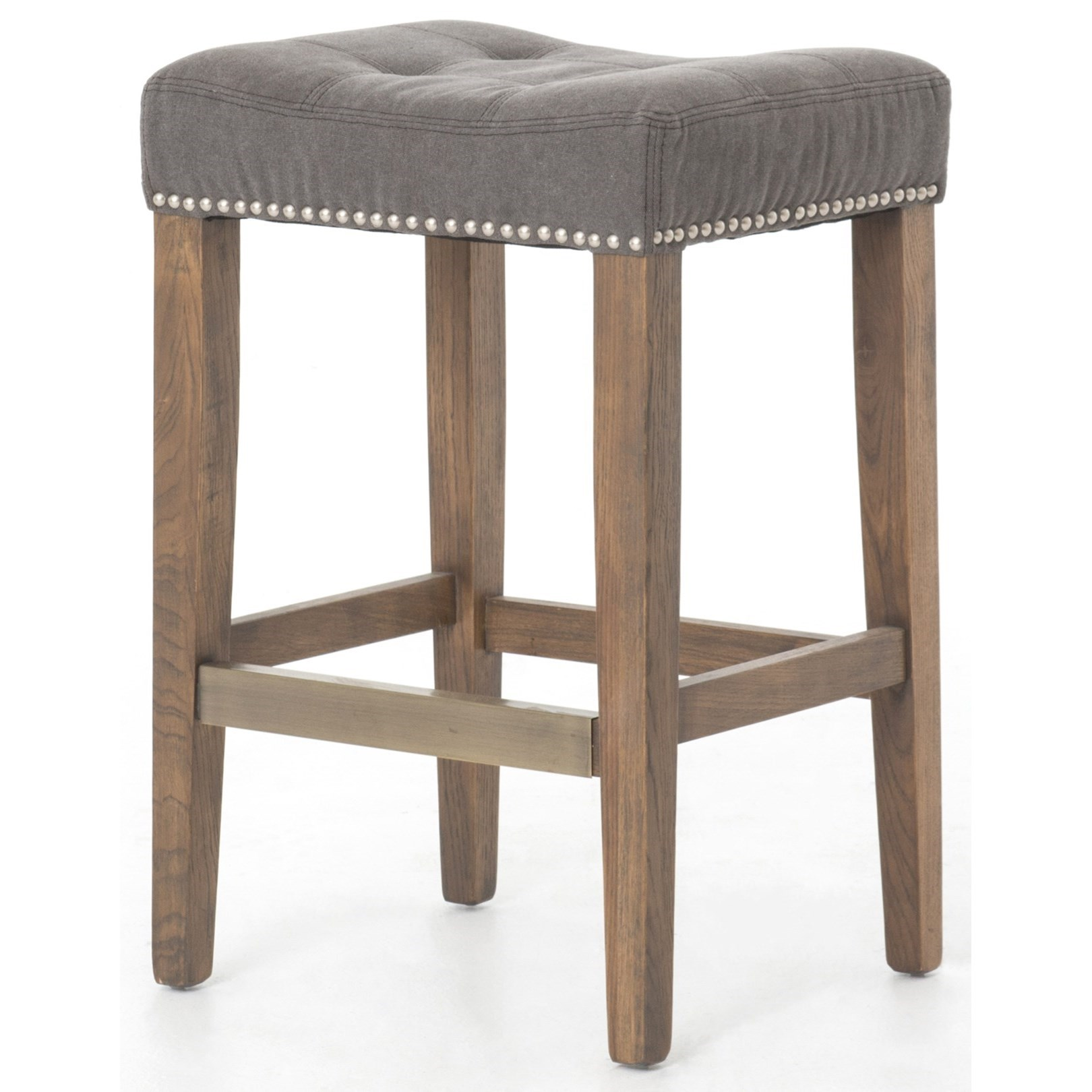 Four Hands Ashford Sean Grey Counterstool - Item Number: CASH-01GP-25