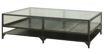 Four Hands Belmont Shadow Box Coffee Table - Item Number: VBEL-F038