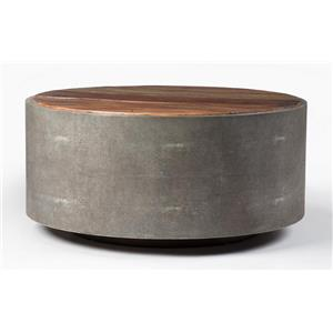 Four Hands Bina Round Coffee Table