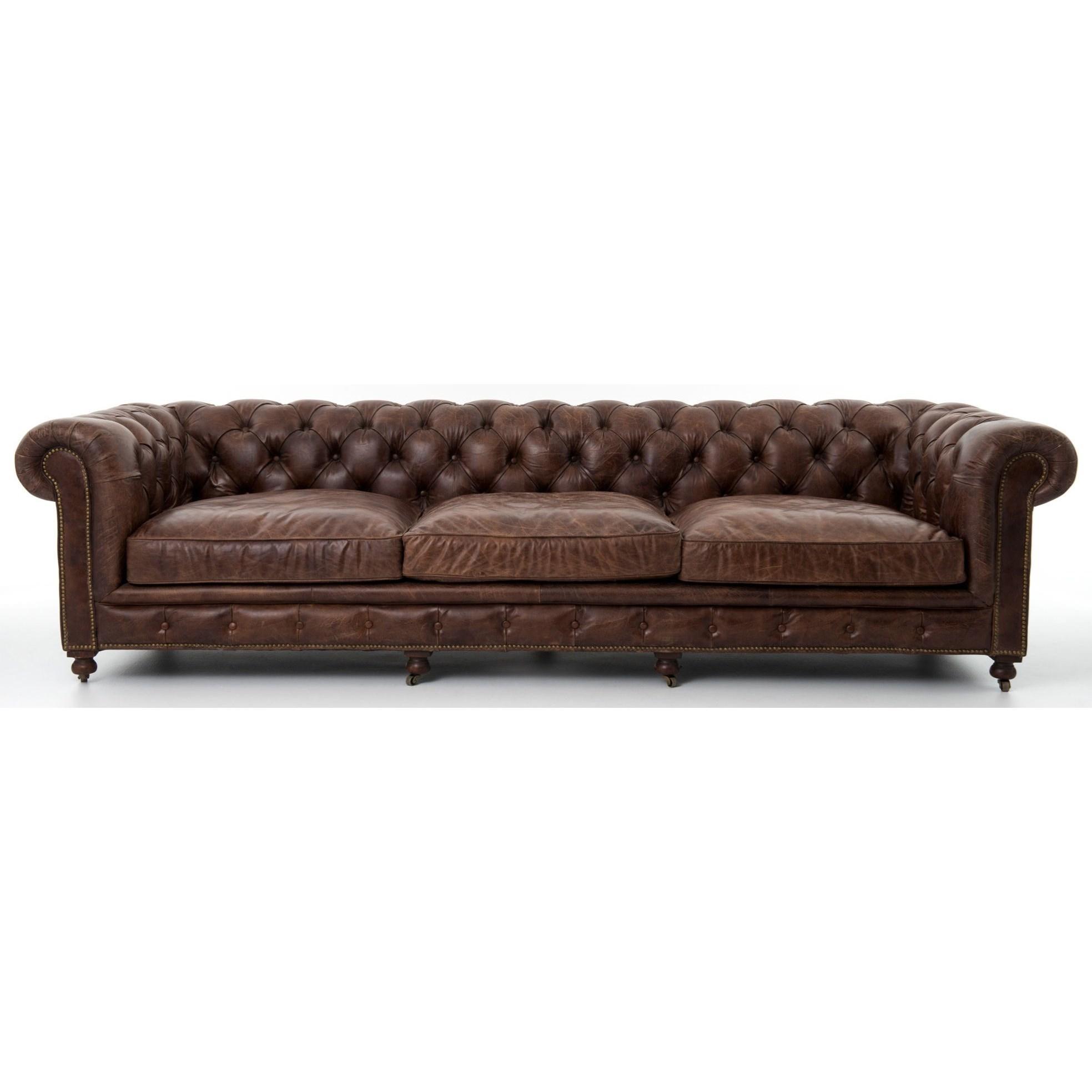 """Four Hands Carnegie Conrad 118"""" Sofa - Item Number: CCAR-35"""