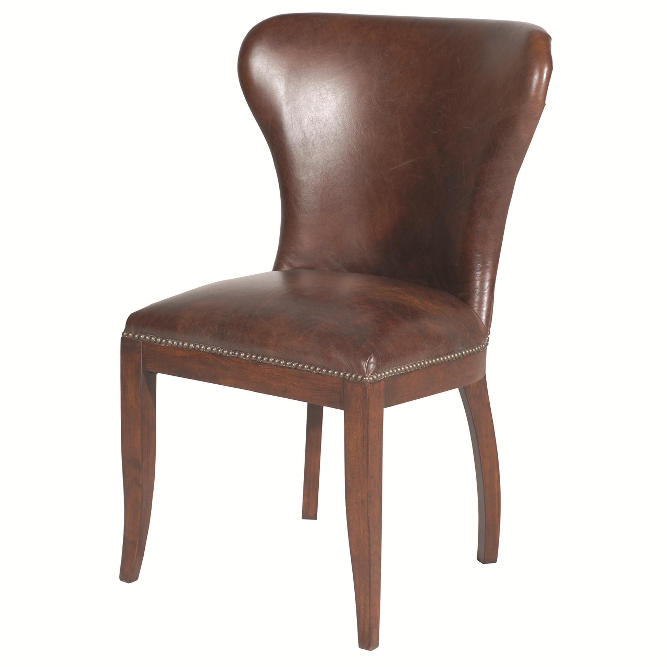 Four hands carnegie richmond dining chair with tapered