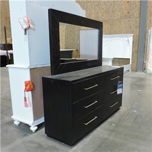 Four Hands Clearance Dresser and Mirror