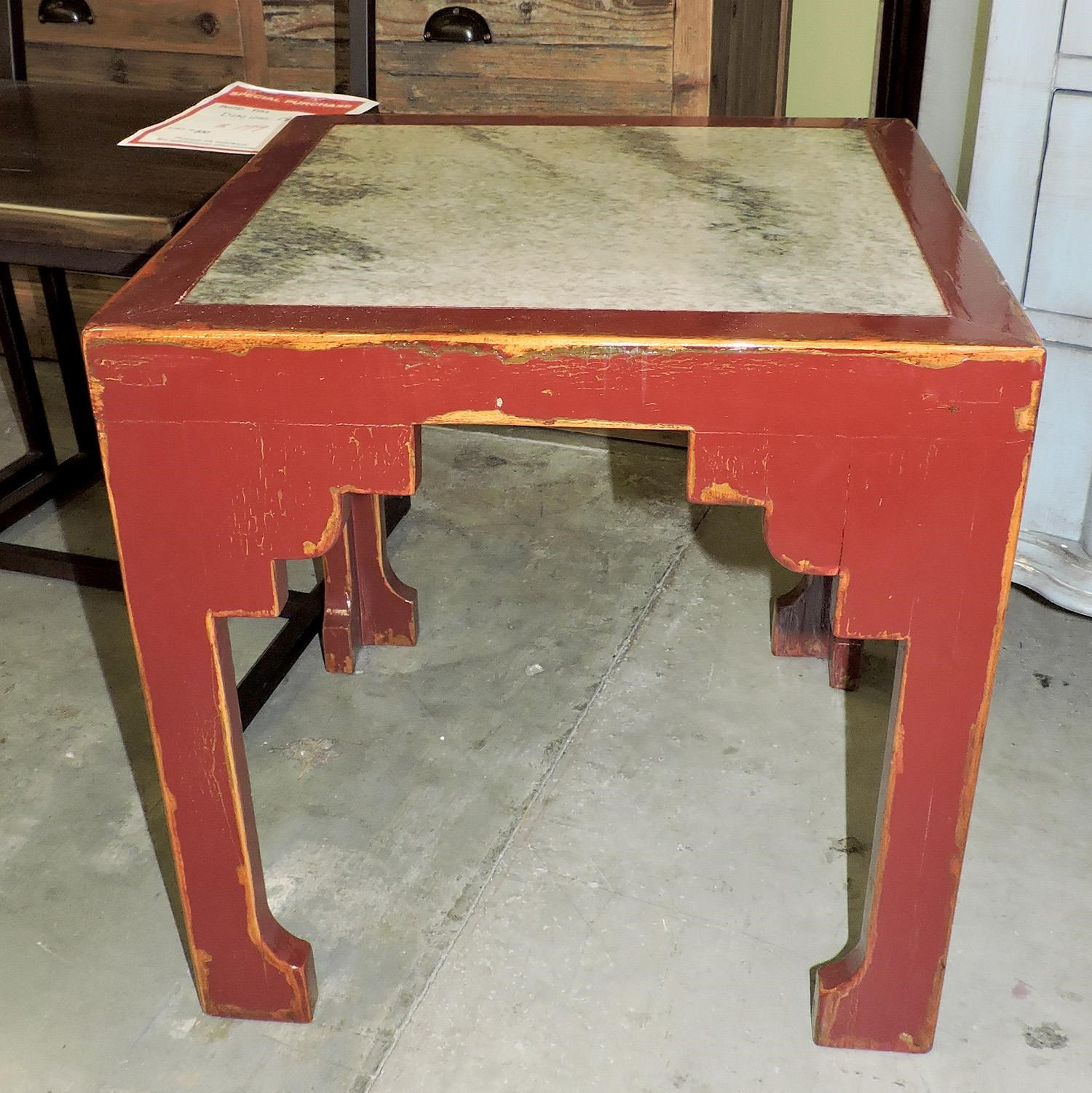 Four Hands Clearance Merlot Accent Table - Item Number: D2SMER431