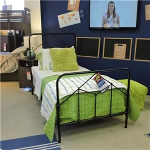 Four Hands Clearance Metal Twin Bed