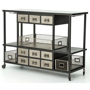 Four Hands Element Bar Cart