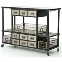 Four Hands Element IELE Bar Cart - Item Number: IELE-35