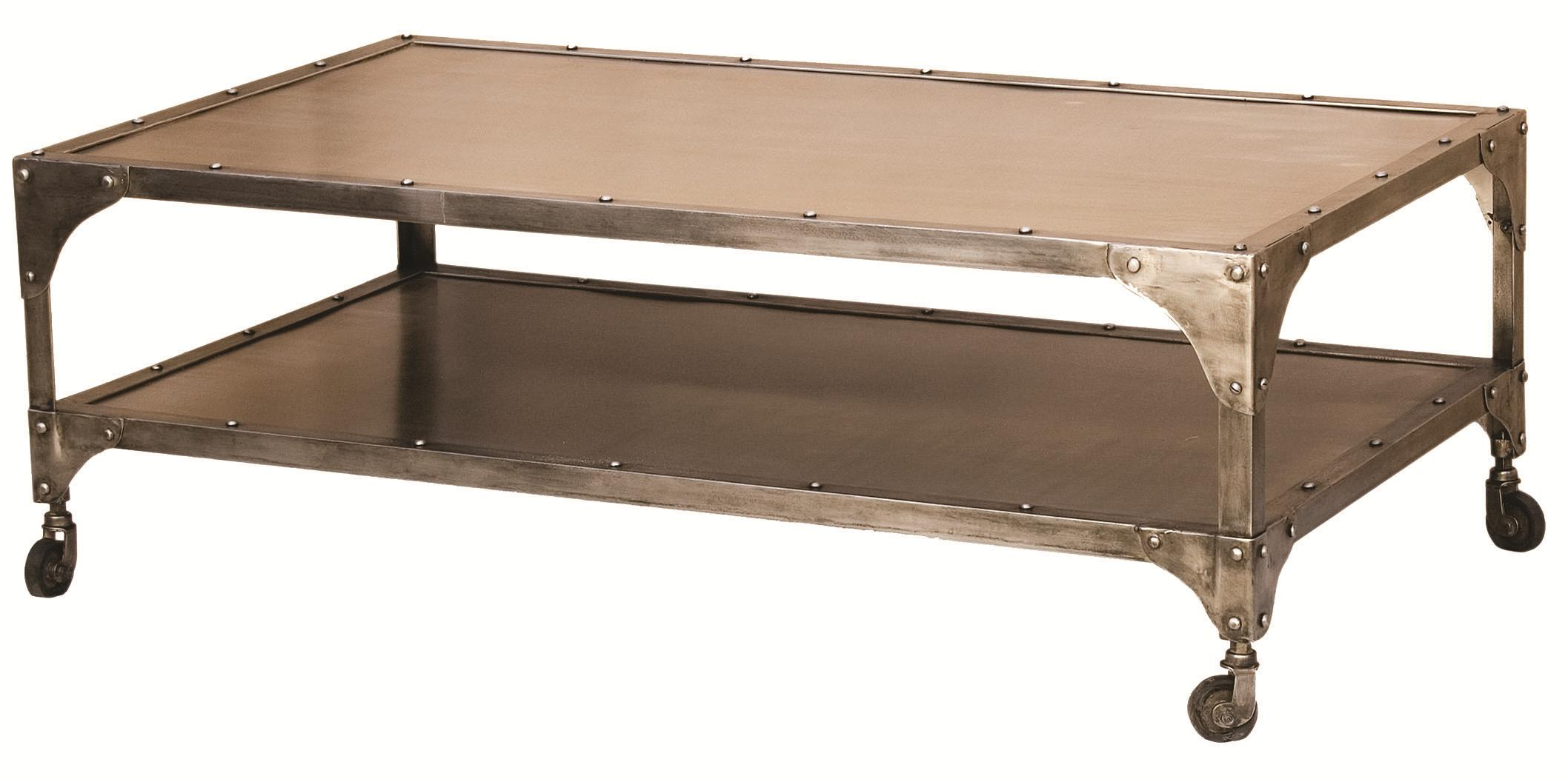 Four Hands Element Coffee Table - Item Number: IELE-49-NKLANT