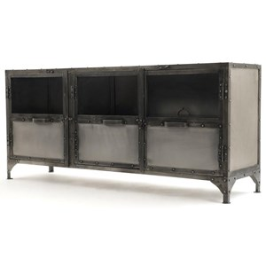 Four Hands Element Metal Console