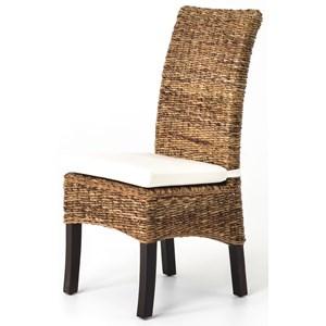 Banana Leaf Chair with Cushion