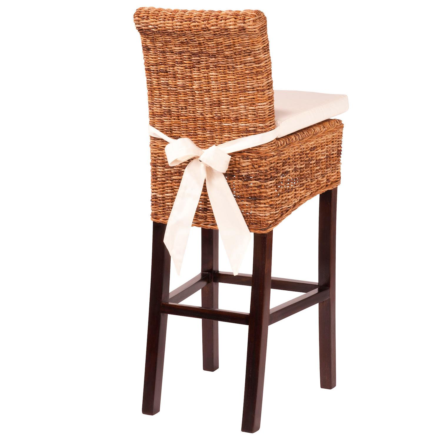 Four Hands Grass Roots Banana Leaf Counter Stool - Item Number: JCHR-B1CS