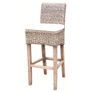 Urban Classic Designs Grass Roots Banana Leaf Barstool