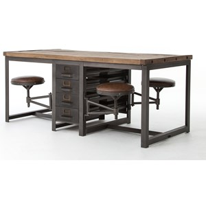 Four Hands Durham Rupert Work Table