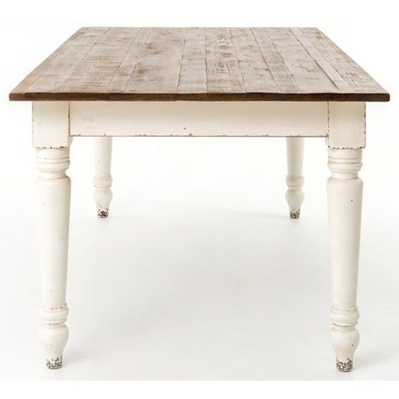 Four Hands Durham Charlie Dining Table - Item Number: CIMP-96-BPFOW