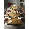 Four Hands Durham Reclaimed Castle Dining Table