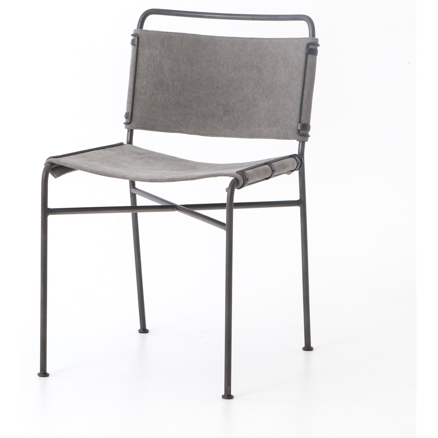 Four Hands Irondale Wharton Dining Chair With Faux Leather