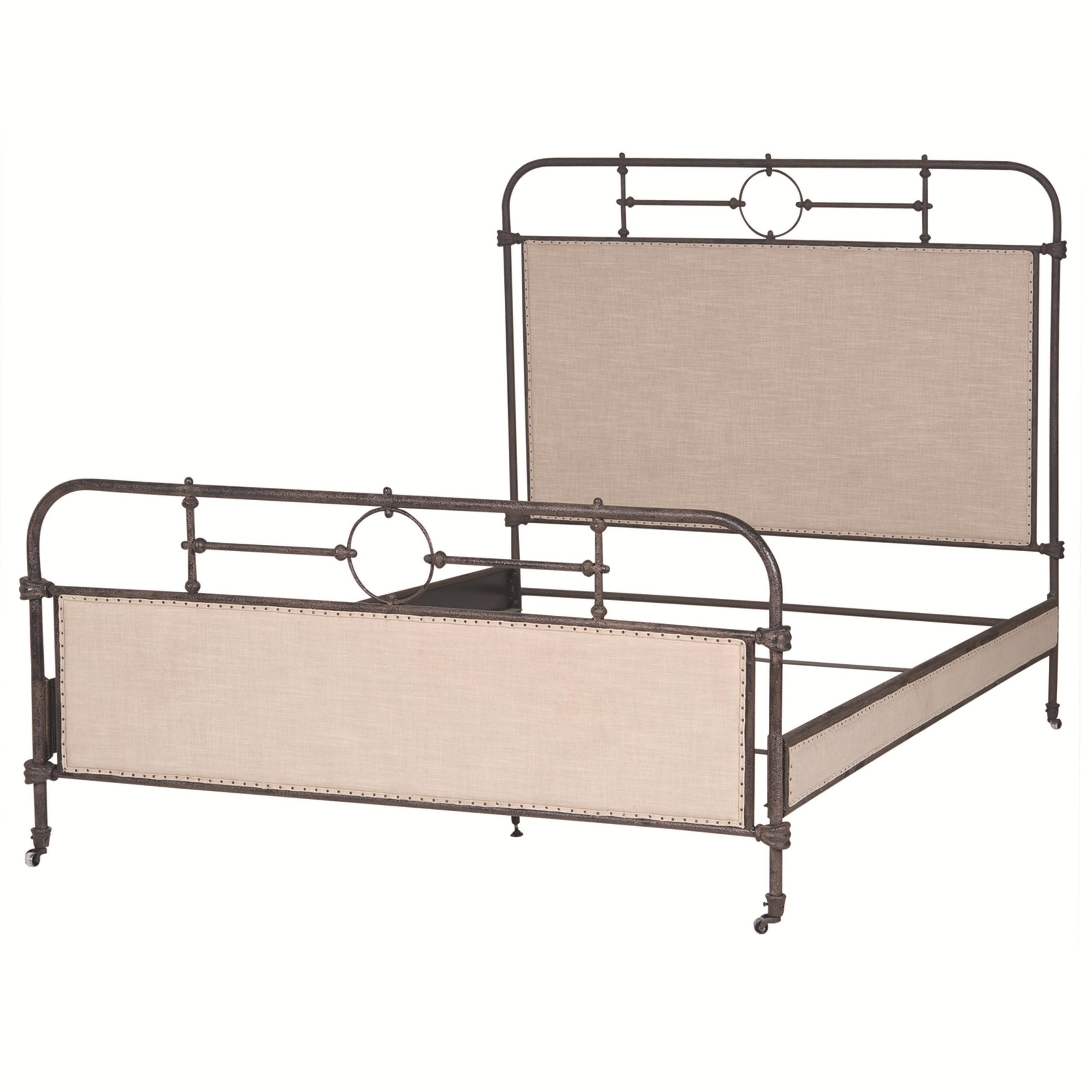 Four Hands Irondale Berkley Metal King Bed - Item Number: CIRD-29KD2-B2