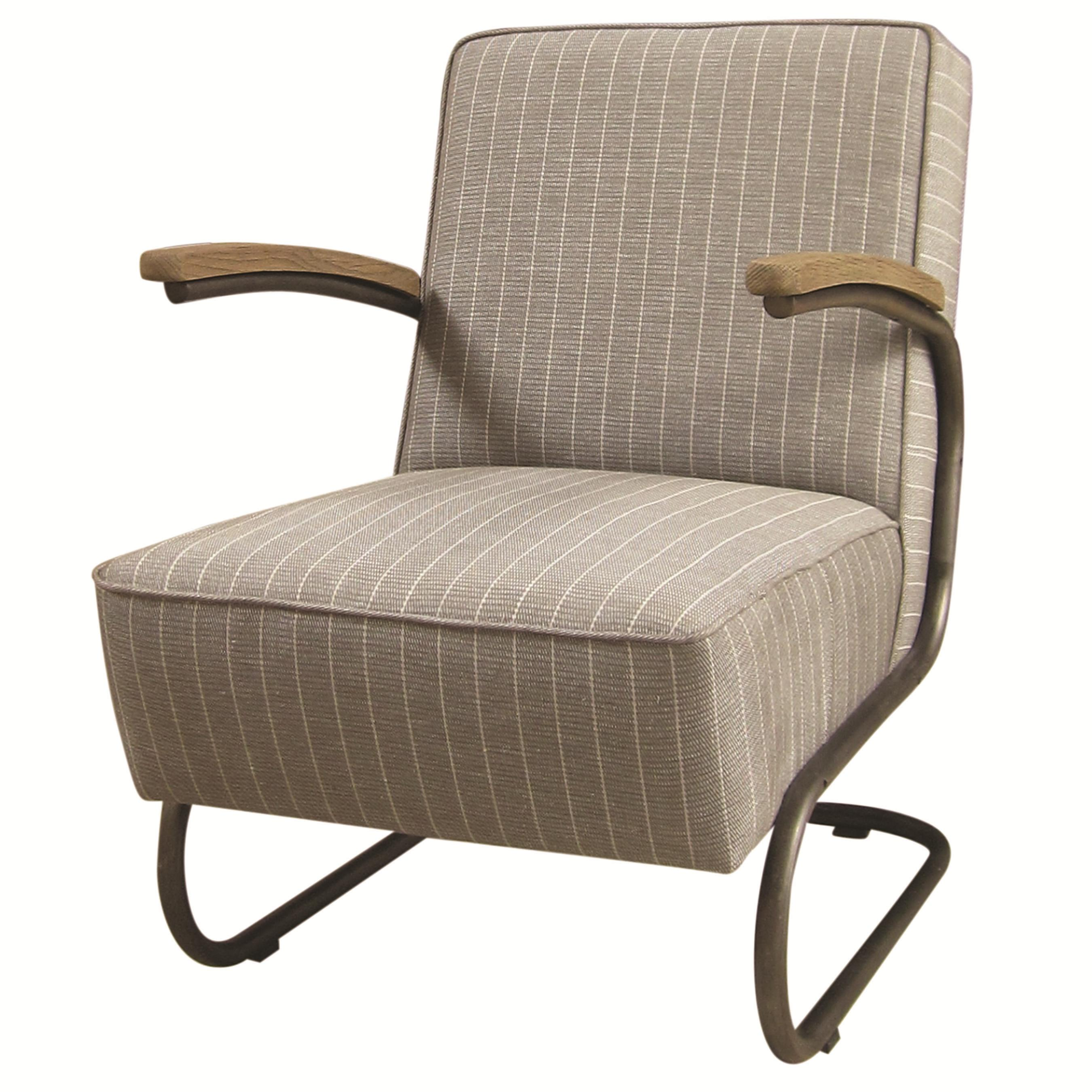Four Hands Irondale Miles Club Chair - Item Number: CIRD-48E1C5-E7