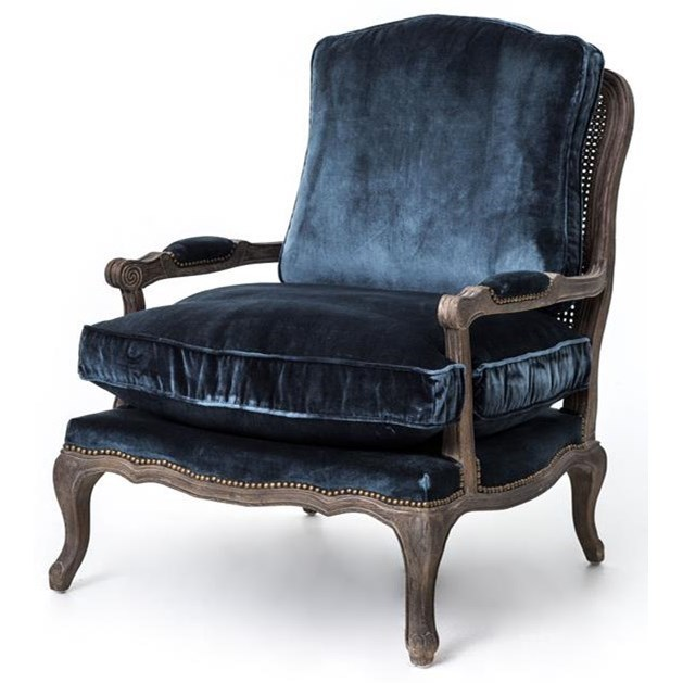 Four Hands Irondale Boutique Accent Chair - Item Number: CIRD-51F2-E5