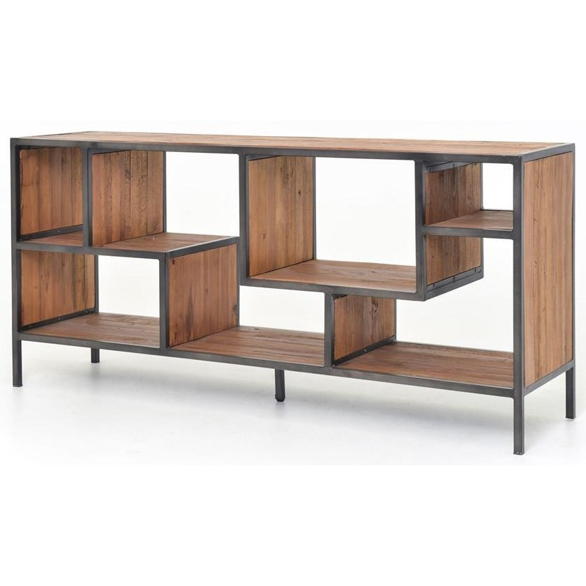 Four Hands Irondale Helena Console Bookcase - Item Number: CIRD-59E1-E2