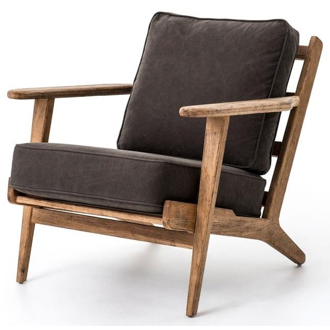 Four Hands Irondale Brooks Lounge Chair - Item Number: CIRD-72K6-H9