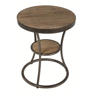 Four Hands Irondale Channing Side Table