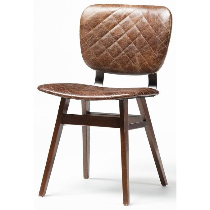 Four Hands Irondale Sloan Dining Chair With Havana Quilted
