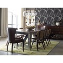 Four Hands Irondale Sloan Dining Chair with Havana Quilted Seat and Back