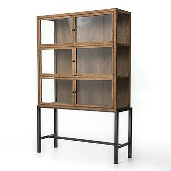 Four Hands Irondale Curio Cabinet - Item Number: CIRD-C5E1-C5