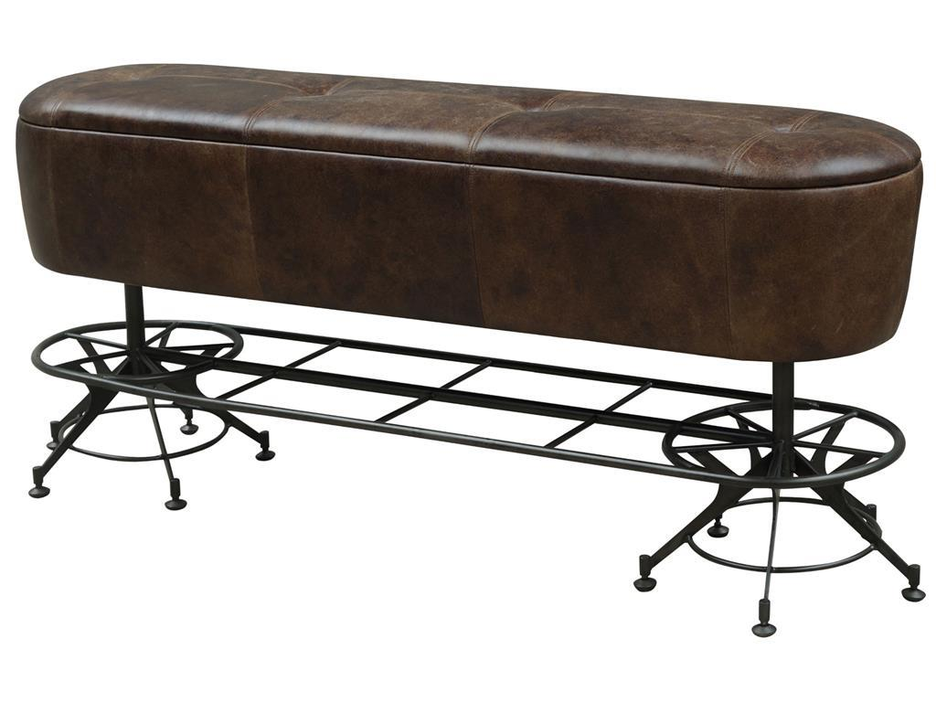 Amazing Four Hands Irondale Counter Height Dining Bench   Item Number: CIRD V1