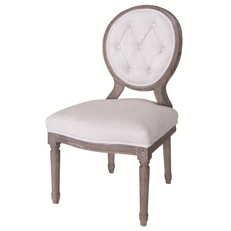 Four Hands Kensington Stella Dining Chair - Bespoke Natural  - Item Number: CKEN-01Z-017