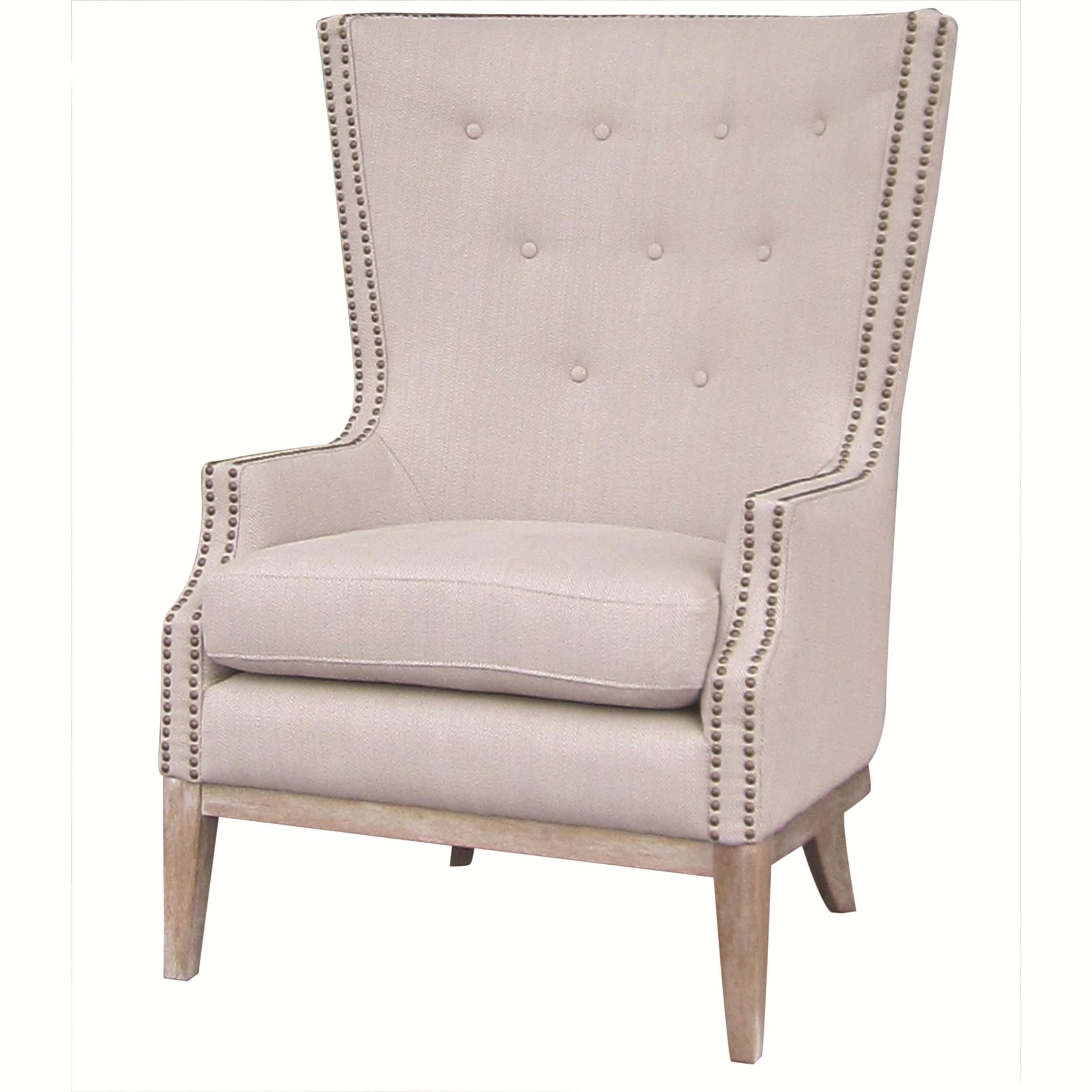 Four Hands Kensington Lillian Occasional Chair with Button Tufting