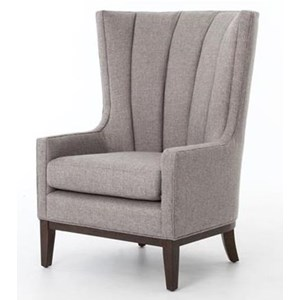 Four Hands Kensington Channeled Wing Chair