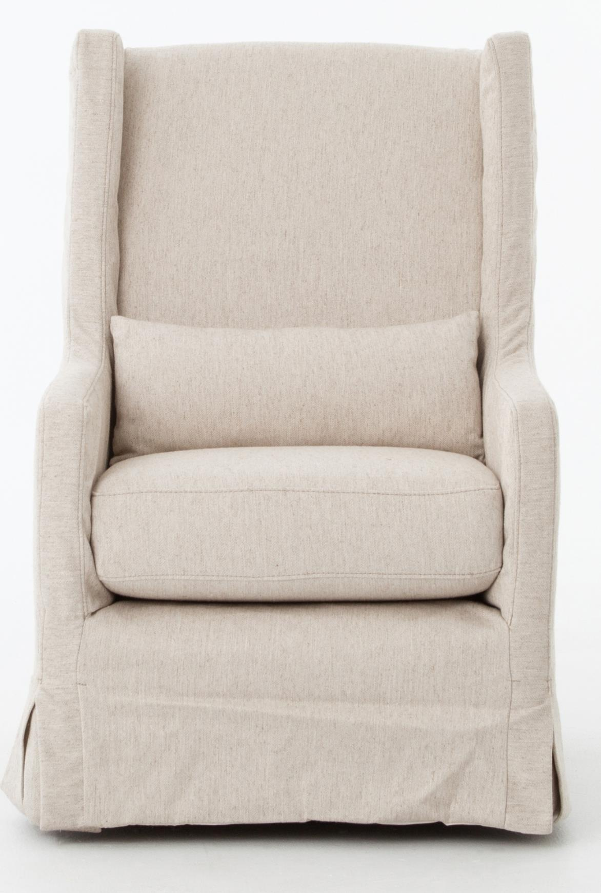 Four Hands Kensington Swivel Wing Chair - Item Number: CKEN-C2-362