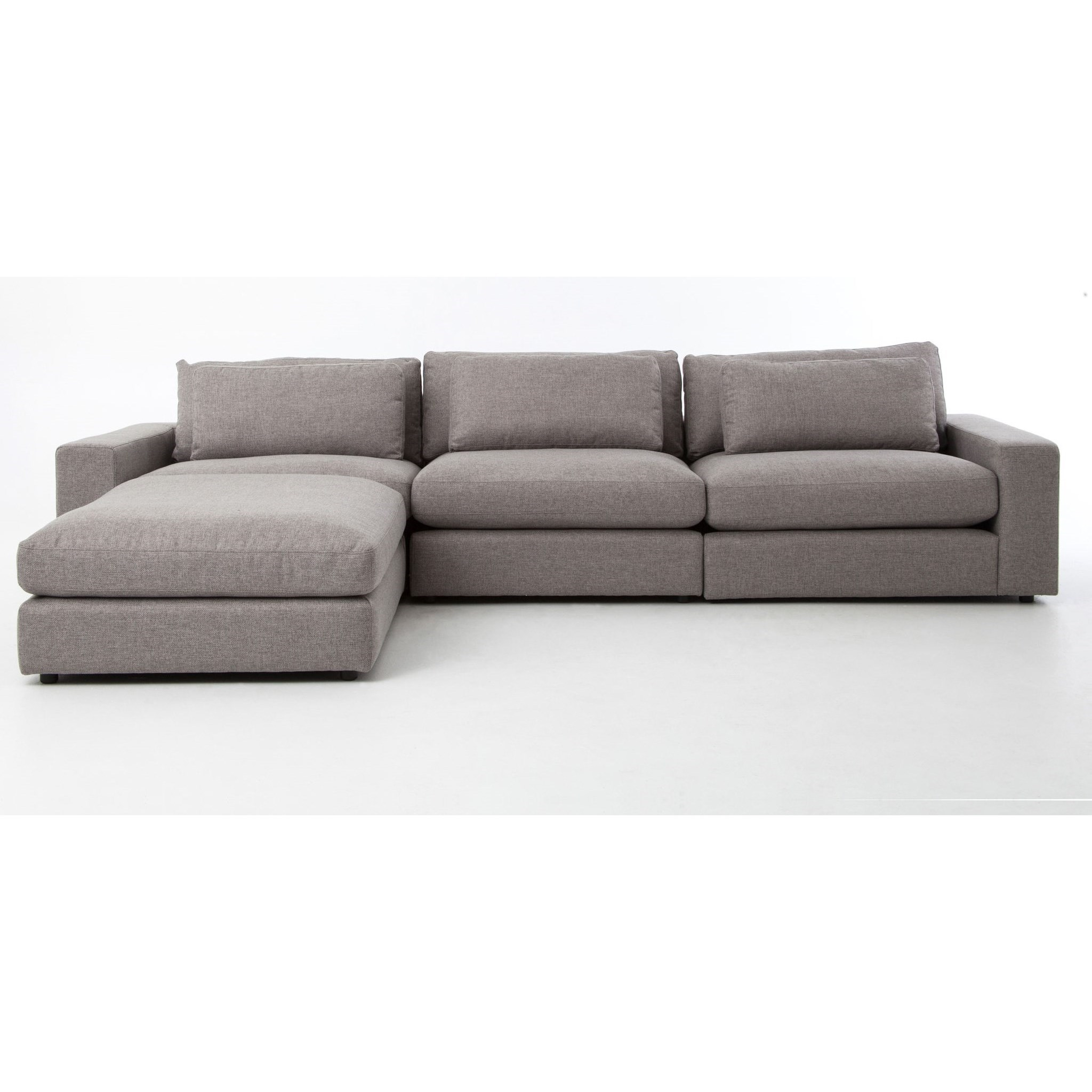Four Hands Kensington Bloor Sofa with Ottoman - Item Number: CKEN-D2-360